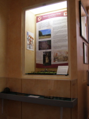 The Battlefield display at Annett House
