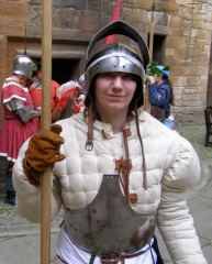 Scottish pikeman mainstay of a 16th century army
