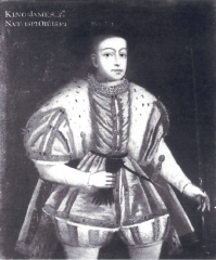 James V as a youth